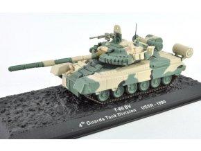 """Altaya/IXO - T-80 BV, 4. gardová """"Kantemirovskaya"""" tanková divize, USSR, 1990, 1/72"""