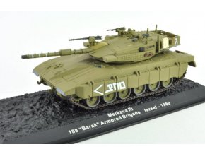 Altaya/IXO - Merkava III, 188. tanková brigáda, Izrael, 1990, 1/72