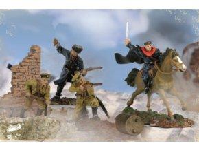 Forces of Valor - vojáci ruské kozácké jezdecké divize, 1/72