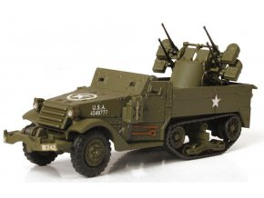 Forces of Valor - M16 Half Track Multiple Gun Motor, Normandie, 1944, 1/72