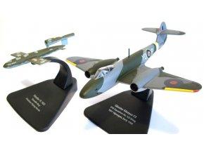 Oxford - Gloster Meteor F.Mk 3 + Fi 103 (V1), RAF, 616.Sqn., 1/72