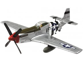 Corgi - North American P-51D Mustang, USAAF, 4th FG, 336th FS, James Goodson, Debden, Anglie, D-Day, 6.6.1944, 1/72 - SLEVA 30%