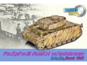 Dragon - Panzer III., Ausf.N, 6.Pz. divize, Kursk, 1943, 1/72