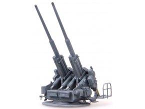 0003307 german wwii flak40 128mm zwillingsflak1945