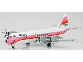 Hobbymaster - Lockheed L-188 Electra, Pacific Southwest Airlines, USA, 1/200