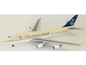 JC Wings - Boeing B747-468 Jumbo Jet, Saudi Arabian Airlines, Saudská Arábie, 1/200