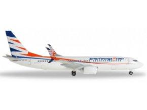 Herpa - Boeing B737-86N, dopravce SmartWings, Česká Republika, 1/500