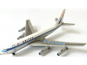 Dragon - Boeing B720-022, přepravce United Airlines, USA, 1/400