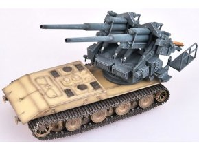 0003717 german wwii e 100 panzer weapon carrier with flak 40 128mm zwillingsflak1946