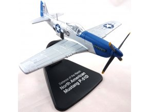 "Atlas Models - North American P-51D Mustang, USAAF, 352nd FG, 487th FS ''Blue nose bastards of Bodney'', ''Miss Helen'', ""Obrana Říše"", 1/72"