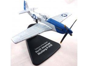 Atlas Models - P-51D Mustang, USAAF,  487th FS ''Blue nose bastards'', 1/72, SLEVA 16%