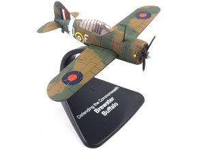 "Atlas Models - Brewster F2A Buffalo, RAF, ""Obrana Commonwealthu"", 1/72, SLEVA 23%"