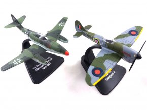 Atlas Models SET - Hawker Tempest Mk.V a Messerschmitt Me-262 Schwalbe, RAF / Luftwaffe, 1/72