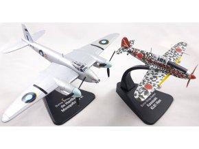 "Atlas Models SET - de Havilland Mosquito FB.VI a Kawasaki Ki-61 Hien ""Tony"", RAF / Japonské císařské námořní letectvo, ""Burma Bridge Busters"", Barma, 1/72"