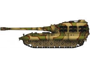 Model Collect - E-100 s kanónem ráže 170mm, Německo, 1946, 1/72