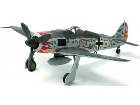 JC Wings - Focke-Wulf Fw-190A, Luftwaffe, JG52, Major Hermann Graf, Francie, 1943, 1/72