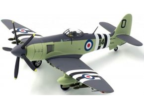 JC Wings - Hawker Sea Fury FB Mk. II, Royal Navy, 802. Sqn. FAA, Peter Carmichael, Korejská válka, 1952, 1/72