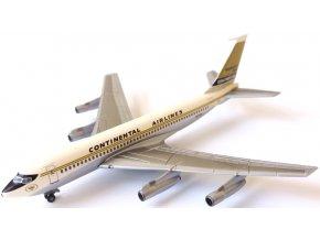 Dragon - Boeing B720B + hangár, přepravce Continental Airlines, USA, 1/400, SLEVA 25%
