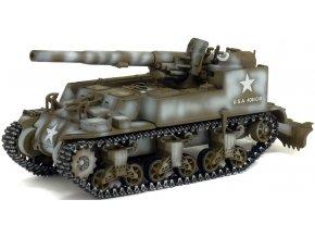 Solido / Warmaster - GMC  M12, 155mm samohybné dělo, US Army, Francie, 1944, 1/72
