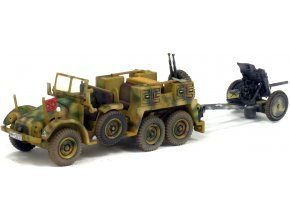 Solido / Warmaster - Krupp Protze L2H143 s dělem PaK 35/36, 1943, 1/72