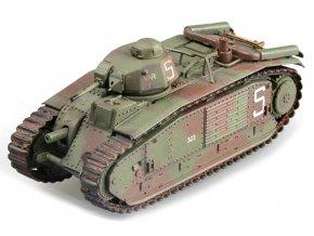 Easy Model - Char B1, francouzská armáda, 2nd Company, Francie, 1940, 1/72