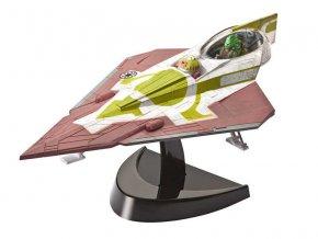 Revell - Star Wars - Fisto's Jedi Starfighter, seas.1+2 (Clone Wars), EasyKit SW 06688