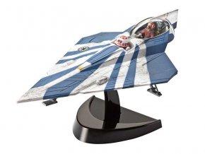 Revell - Star Wars - Plo Koon's Jedi Starfighter (Clone Wars), EasyKit SW 06689