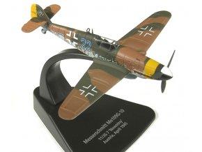 """Oxford - Messerschmitt Bf-109, 11/JG 7 """"Nowotny"""", Rakousko, 1945, 1/72"""