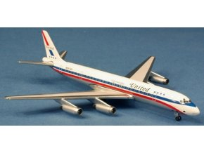 "AeroClassic - Douglas DC-8-62, dopravce United Airlines ""Friendship"", USA, 1/400"