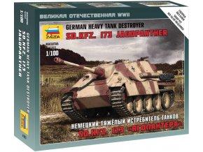 Zvezda - Sd.Kfz.173 Jagdpanther, Wehrmacht, Wargames (WWII) 6183, 1/100