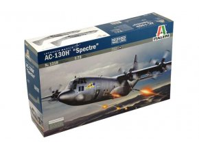Italeri - Lockheed AC-130H Hercules Spectre, Model Kit letadlo 1310, 1/72