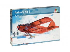 Italeri - Antonov An-2, 1/72, Model Kit letadlo 1367