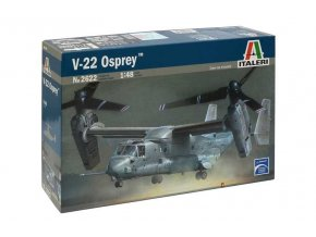 Italeri - Bell Boeing V-22 Osprey, Model Kit 2622, 1/48