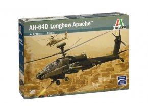 Italeri AH-64D Longbow Apache, 1/48, Model Kit vrtulník 2748