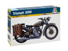 Italeri - Triumph 3HW, Model Kit military 7402, 1/9