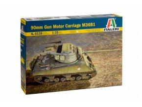 Italeri - stíhač tanků M36 B1 Jackson, US Army, Model Kit tank 6538, 1/35