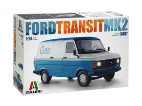 Italeri - Ford Transit Mk.2, Model Kit 3687, 1/24