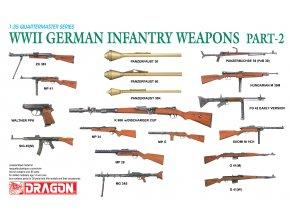 Dragon - německé pěchotní zdraně, 2.světová válka, 1/35, Model Kit zbraně 3816