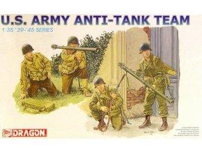Dragon - figurky US Army, protitankové družstvo, Model Kit figurky 6149, 1/35