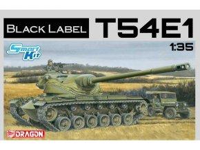 Dragon - T54E1, US Army, Model Kit tank 3560, 1/35