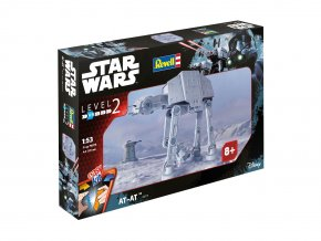 Revell - Star Wars - All Terrain Armored Transport AT-AT / Imperiální chodec, 1/53, EasyKit SW 06715