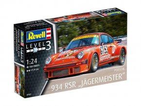 """Revell - Porsche 934 RSR """"Jägermeister"""", ModelKit 07031, 1/24"""