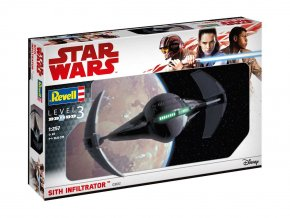 Revell - Star Wars - Sith Infiltrator, 1/257, Plastic ModelKit SW 03612