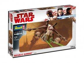 Revell - Star Wars - Republic Gunship, 1/172, Plastic ModelKit SW 03613
