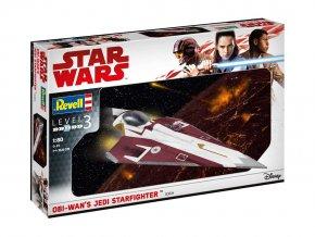 Revell - Star Wars - Obi-Wan's Jedi Starfighter, 1/80, Plastic ModelKit SW 03614