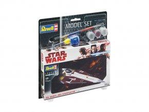 Revell- Star Wars -  Obi Wan's Jedi Starfighter, 1/80, ModelSet SW 63614