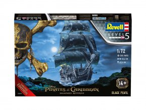 Revell - Black Pearl,  Plastic ModelKit loď Limited Edition 05699, 1/72