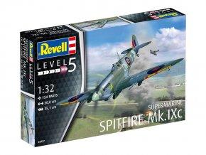Revell - Supermarine Spitfire Mk.IXC, Plastic ModelKit letadlo 03927, 1/32