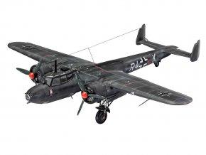Revell - Dornier Do-17 Z-10 Kauz II, Plastic ModelKit letadlo 03933, 1/72