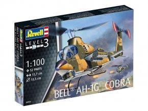 Revell - Bell AH-1G Cobra, 1/100, ModelKit 04954